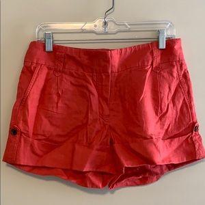 J Crew linen cuffed shorts